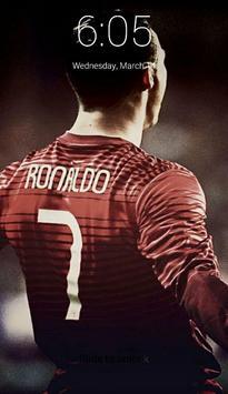 Cristiano Ronaldo Lock Screen screenshot 2