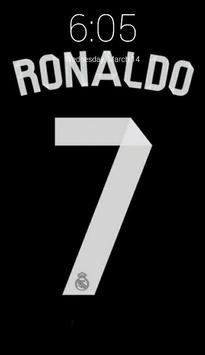 Cristiano Ronaldo Lock Screen screenshot 3