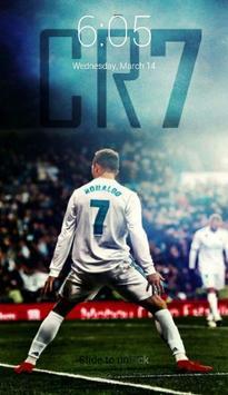 Cristiano Ronaldo Lock Screen screenshot 4