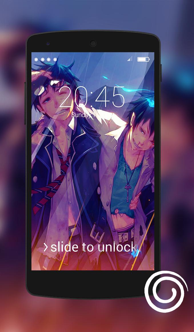 Ao No Exorcist Wallpaper For Lock Screen For Android Apk