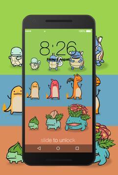 Pika Lockscreen screenshot 1