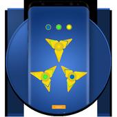 Fidget Hand Spinner Lock Screen icon