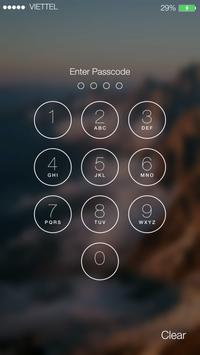 Lock Screen OS9 ILocker Apk Screenshot