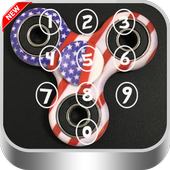 LockScren Fidget Spinners Usa icon