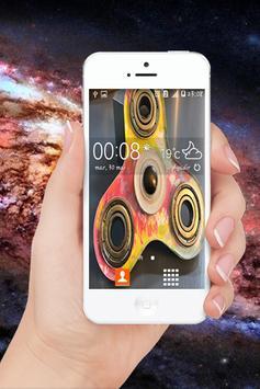 LockScren Fidget Spinners Usa apk screenshot