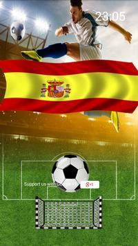 Fútbol España Lockscreen poster