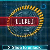 Locker Technology password or Pattern lock screen. icon