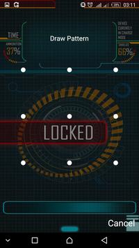 Locker Technology password or Pattern lock screen. screenshot 4