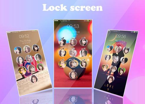 love keypad lockscreen apk screenshot