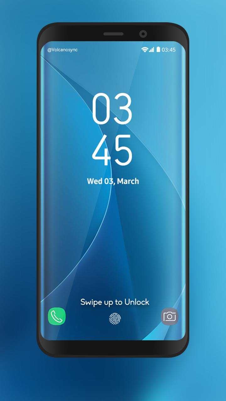 S8 Lock Screen : S8 Edge for Android - APK Download