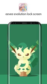 eevee evolution lock screen wallpaper screenshot 4