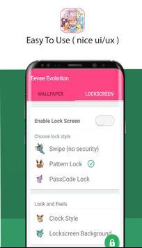 eevee evolution lock screen wallpaper screenshot 5