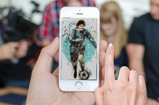 Lionel Messi Screen Locker apk screenshot