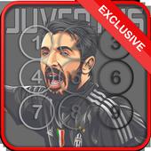 Buffon Juventus Screen Locker icon