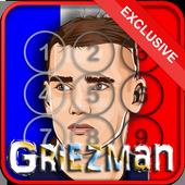Griezman France Screen Locker icon