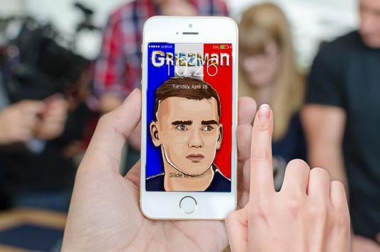 Griezman France Screen Locker poster