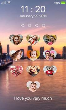 photo lock screen apk screenshot