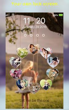 love circle lockscreen apk screenshot
