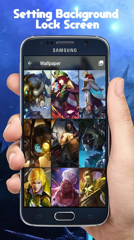 Lock Screen Mobile Legend For Android Apk Download