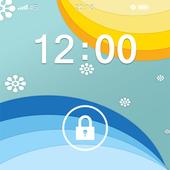 Screen Lock Theme Os icon