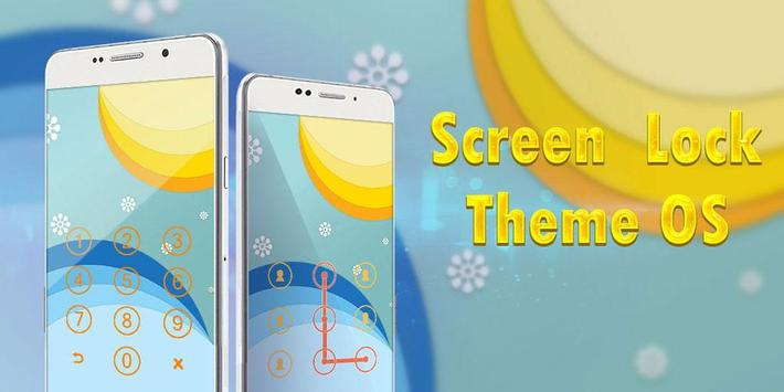 Screen Lock Theme Os apk screenshot