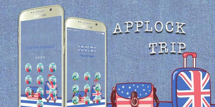 AppLock Theme Trip apk screenshot