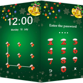 Applock Theme Christmas icon