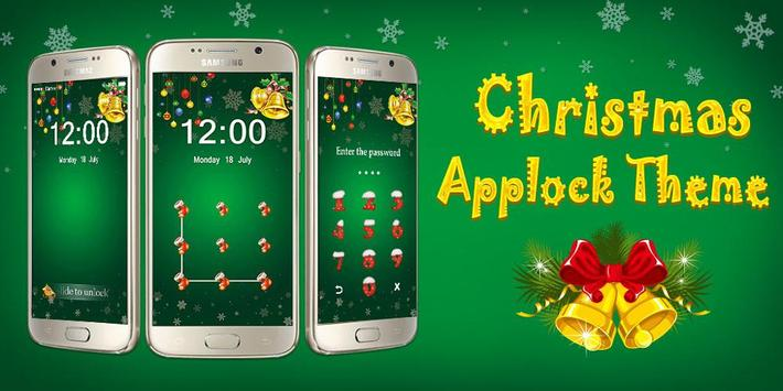 Applock Theme Christmas poster