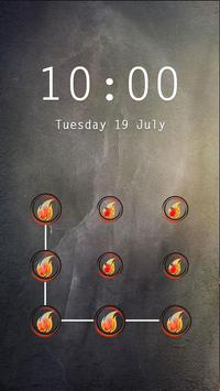 Applock Theme Flame screenshot 2