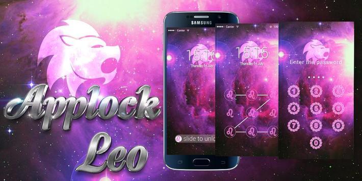 AppLock Theme Leo poster