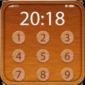 Applock Natrual Wood icon