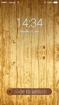 Applock Natrual Wood poster
