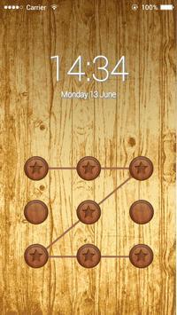 Applock Natrual Wood apk screenshot