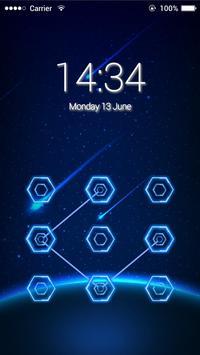 Applock Prototype X theme apk screenshot