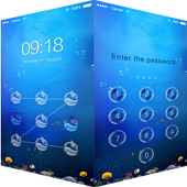 AppLock Theme Sea World icon