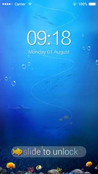 AppLock Theme Sea World screenshot 3
