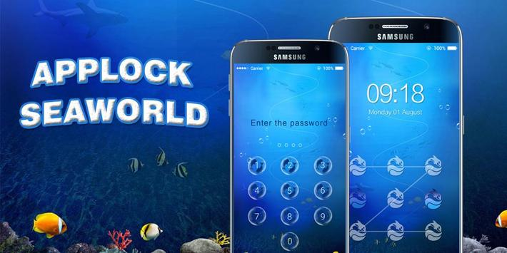 AppLock Theme Sea World screenshot 8