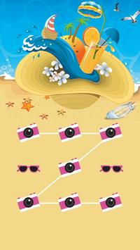 Applock Theme Beach poster
