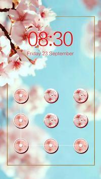 AppLock Theme Blooming Flowers screenshot 3