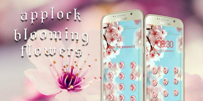 AppLock Theme Blooming Flowers screenshot 6