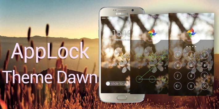 AppLock Theme Dawn poster