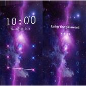 Applock Theme Galaxy icon