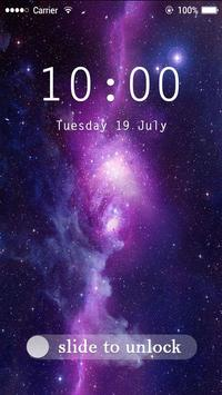Applock Theme Galaxy poster