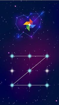 AppLock Theme Galaxy apk screenshot