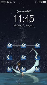 AppLock Theme Good Night apk screenshot