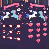 Applock Theme kisslove icon