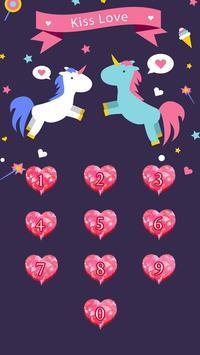 Applock Theme kisslove apk screenshot