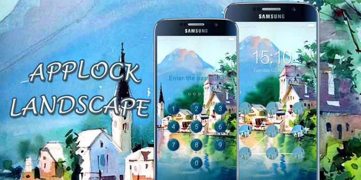 AppLock Theme Landscape poster