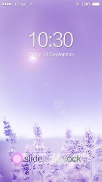AppLock Theme Lavender apk screenshot