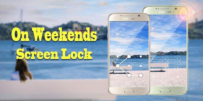 Screen Lock On Weekend screenshot 8